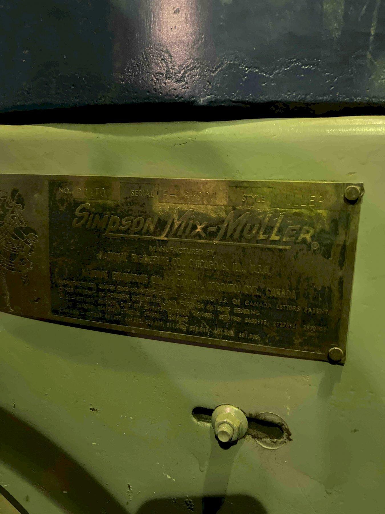 SIMPSON NO 5 PORTO MULLER S/N E185904