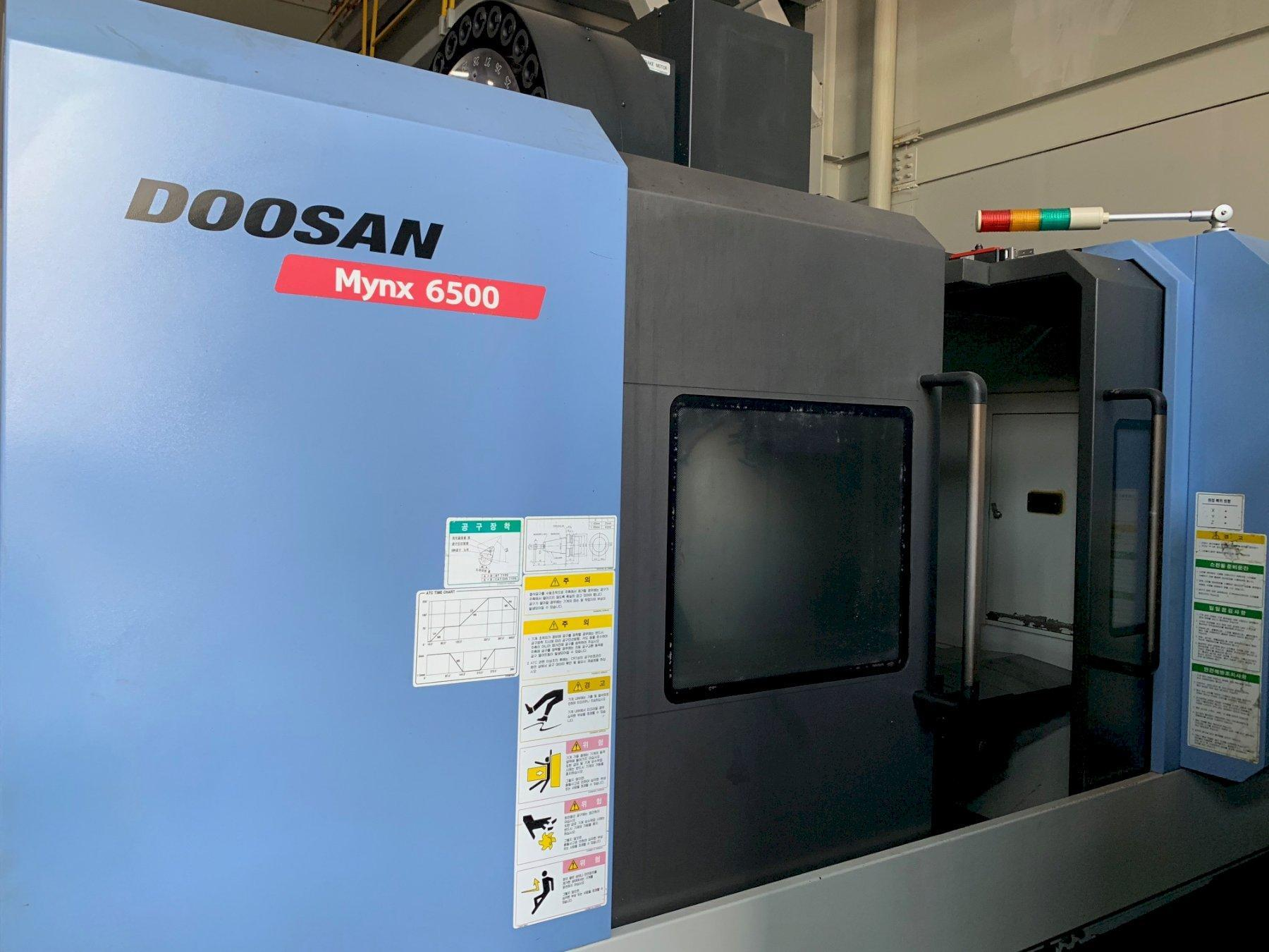 2011 Doosan Mynx 6500 - Vertical Machining Center