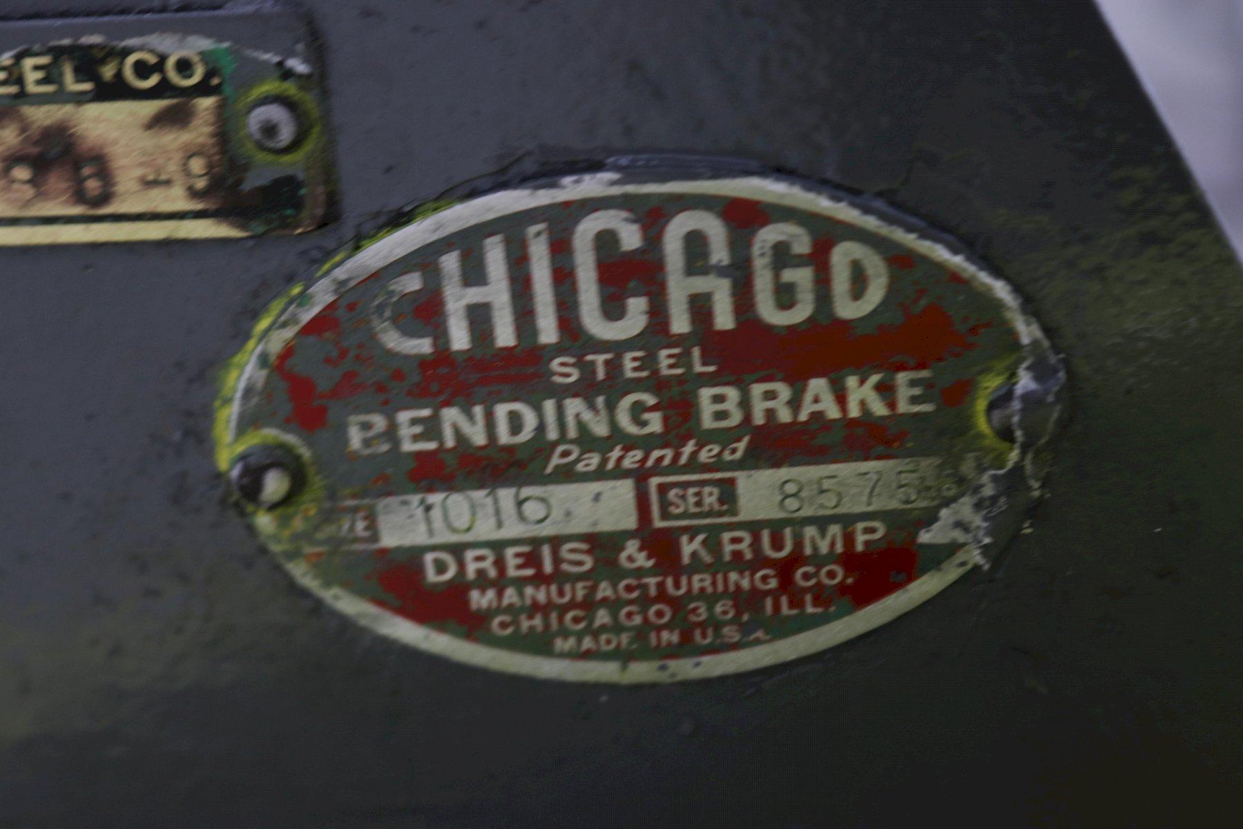 DREIS & KRUMP APRON BRAKE: STOCK #73584