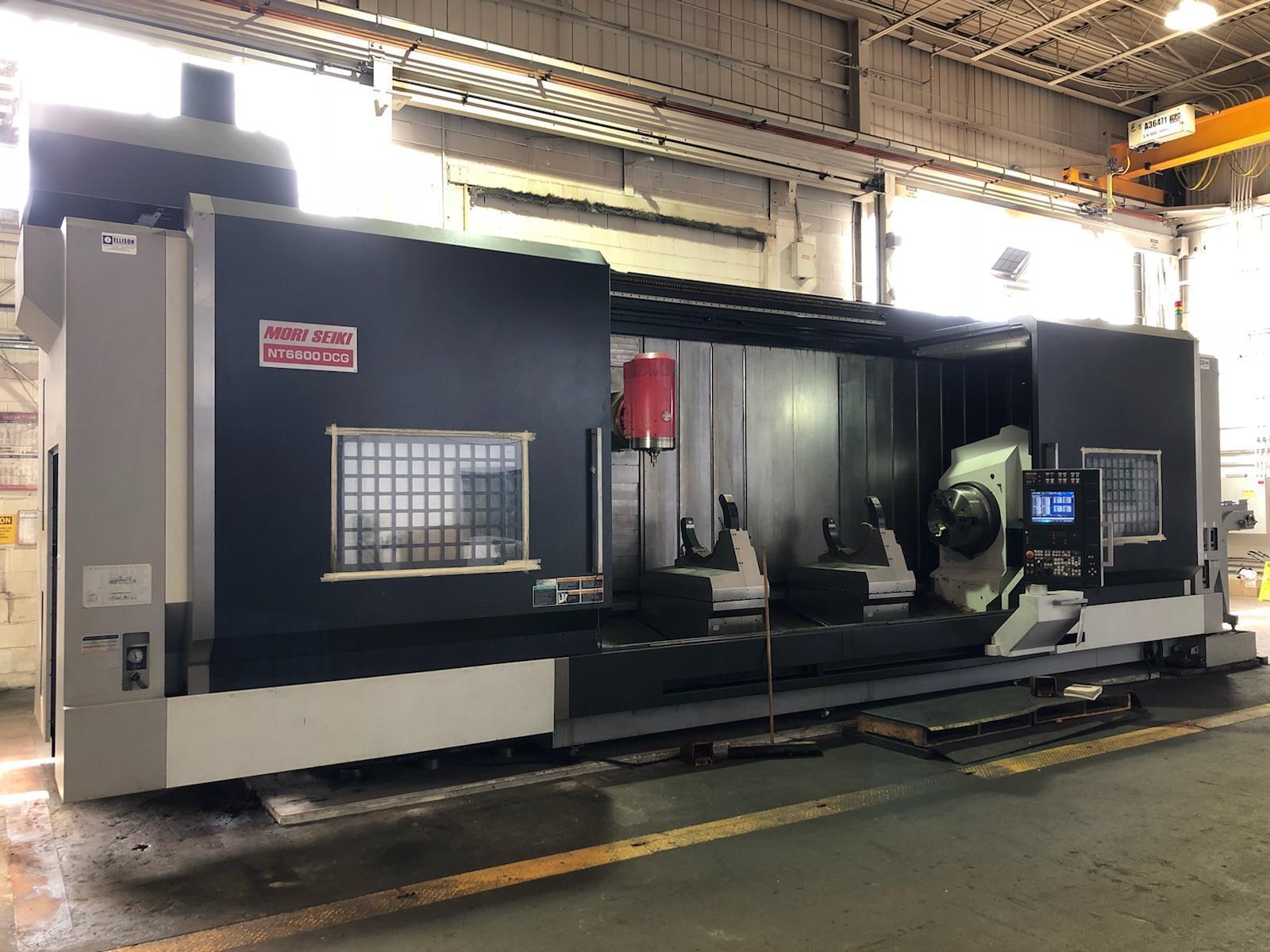 2009 MORI SEIKI NT6600DCG/4000 CS CNC LARGE FORMAT MULTI TASKING CENTER