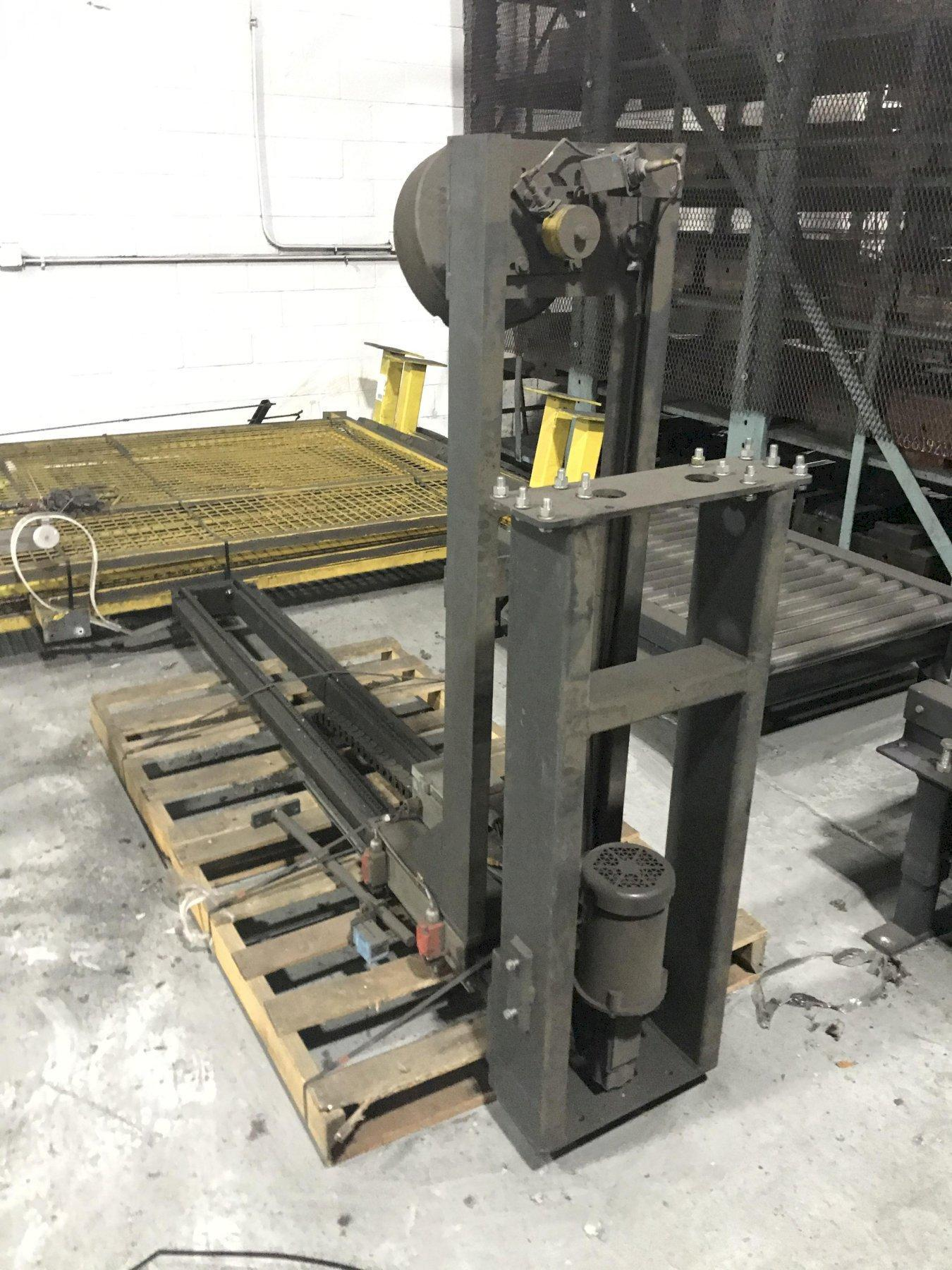 """30"""" x 42"""" WULFTEC MODEL #WCRT 175 AUTOMATIC ROTARY ARM STRETCH WRAPPING SYSTEM"""