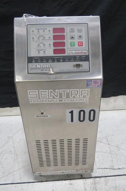 Advantage Sentra 3/4hp, 10kw, Used SK-1035ZHE-41D1 Mold Temperature Control Unit, 460V, Yr.2005