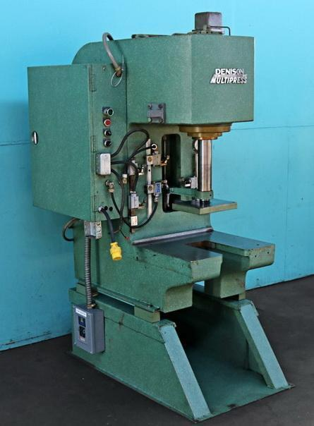 12 Ton Denison Multipress Hydraulic C Frame Press