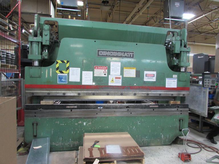 1999 Cincinnati 90CBIIx10, 12' x 90 Ton CNC Hydraulic Press Brake