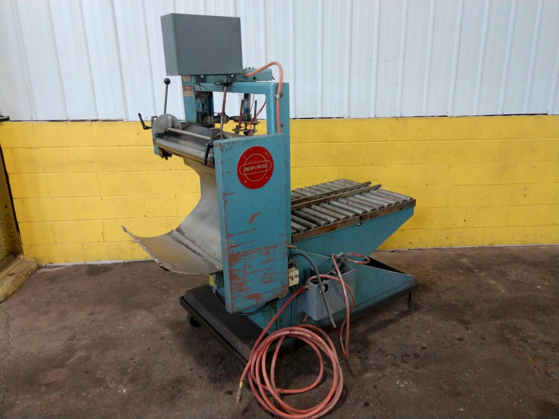 """4"""" TO 16"""" SPIRO MODEL #AR640 AUTOMATIC ROLL FORMING MACHINE: STOCK #11355"""