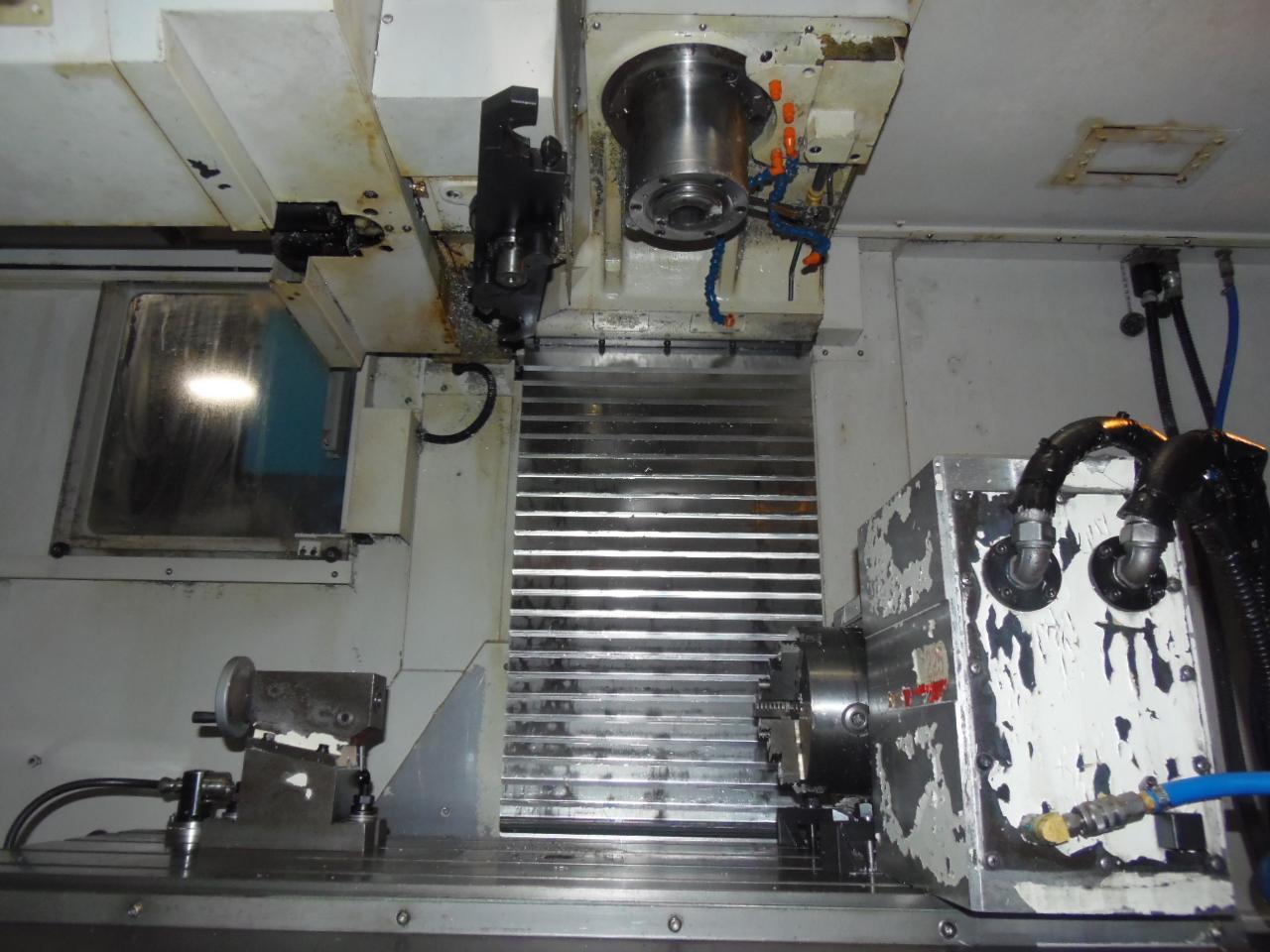 DAEWOO DOOSAN DVM-4020L VERTICAL MACHINING CENTER, 4TH AXIS TABLE, 2006
