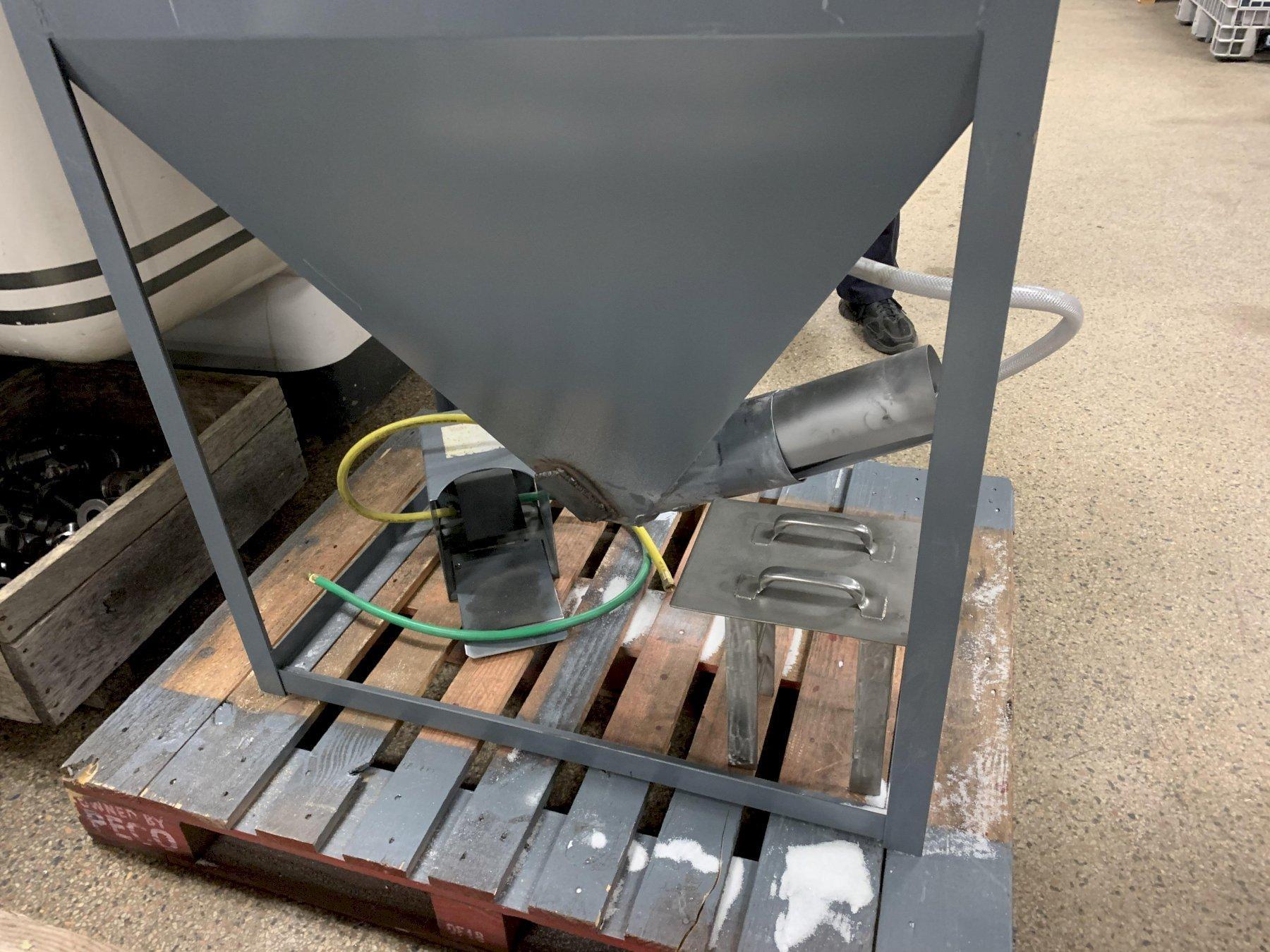 Trinco / Trinity 48 x 36 Dry Blast Cabinet Model 36/600RC, S/N 74996-15