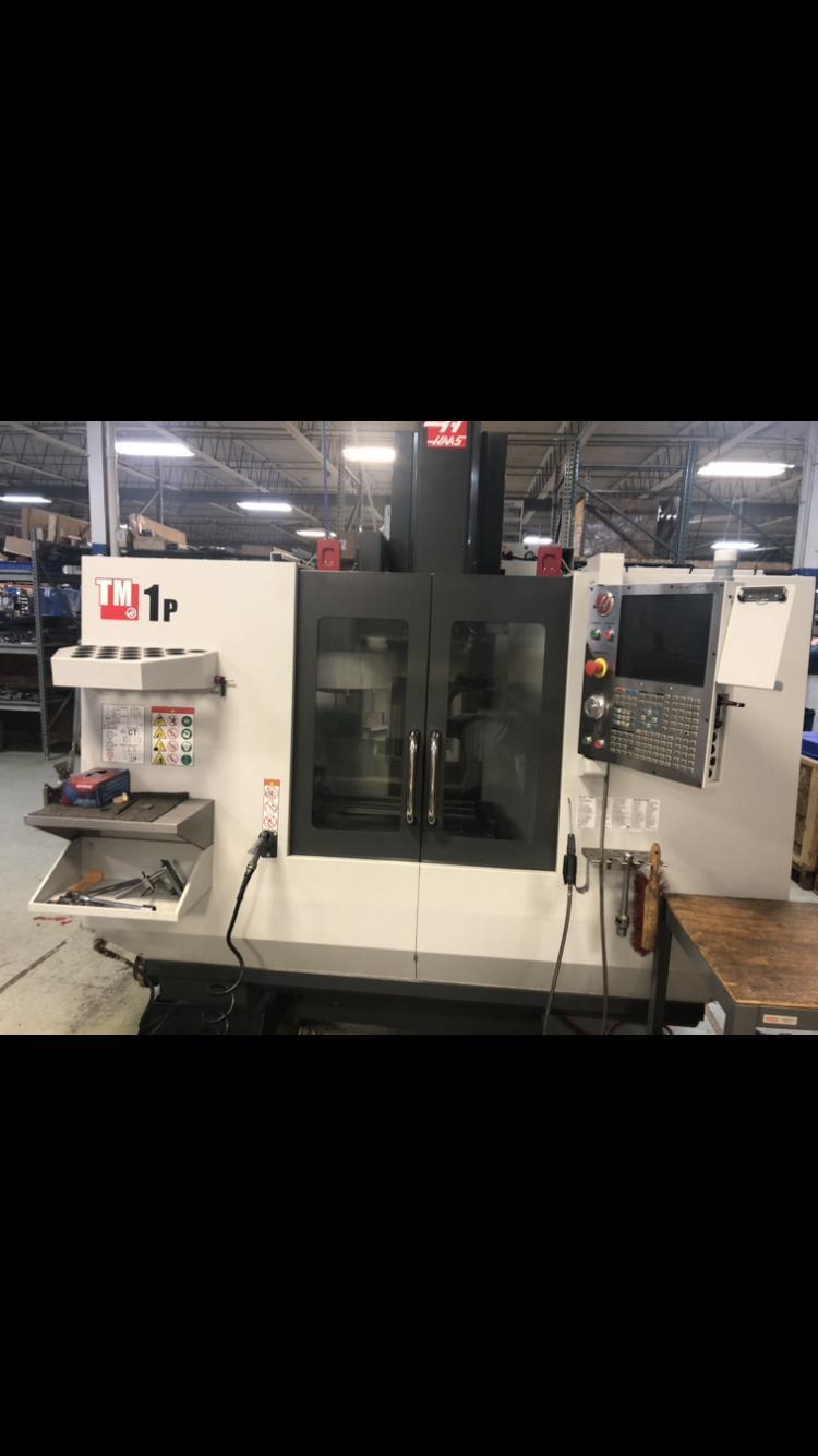 Haas TM-1P Vertical Machining Center (2017) Toolroom Mill