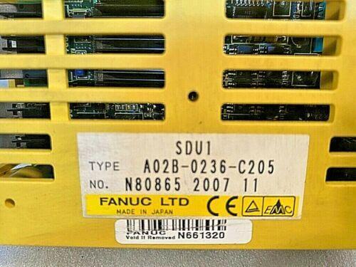 Fanuc SDU1 Feedback Module A02B-0236-C205, Tested Good