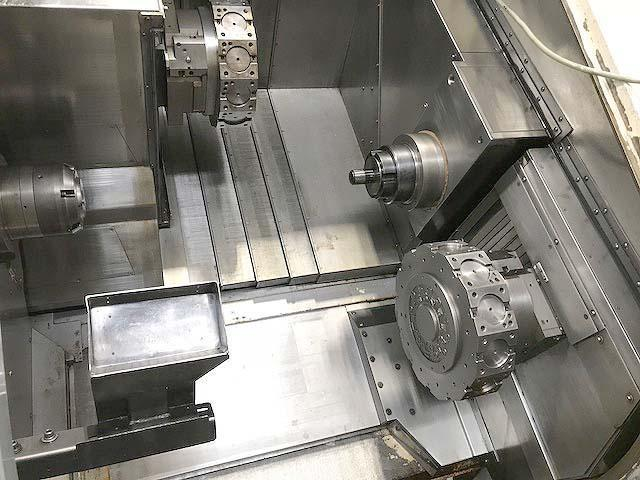 NAKAMURA TOME WT-300MMSY Fanuc 18i-TB CNC Control, Twin Spindle, Twin Turret, Live Tooling in Both Turrets, C-Axis on Both Spindles, Y-Axis Upper Turret, New 2005