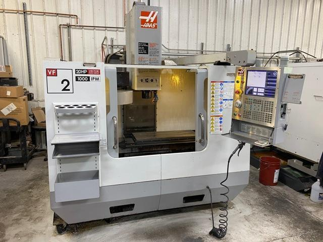 Haas VF-2D Vertical Machining Center (2008)
