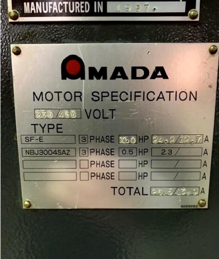 Amada M-2560 8' Shear