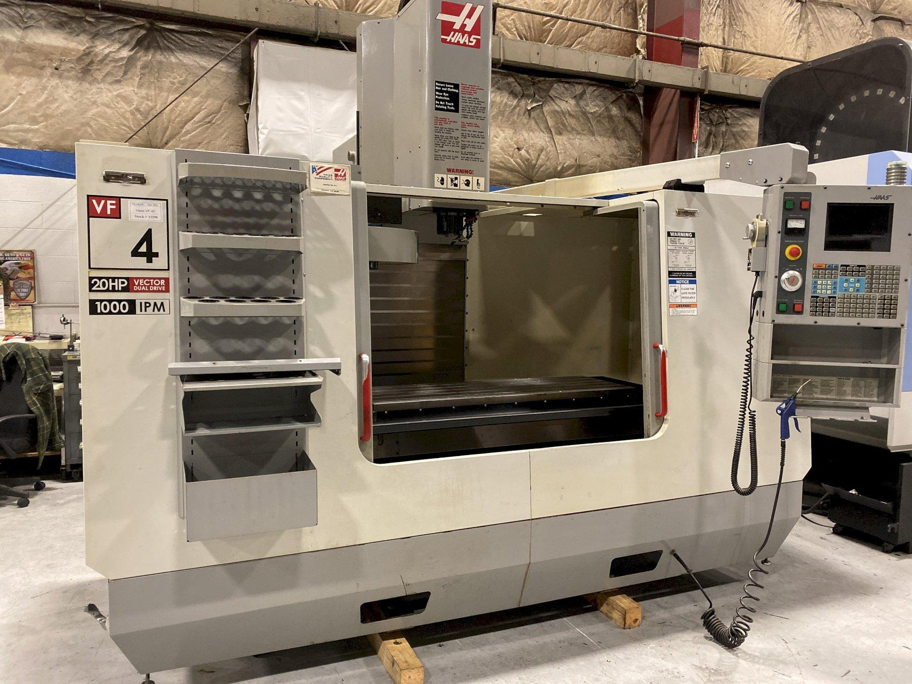 2004 Haas VF-4D - CNC Vertical Machining Center