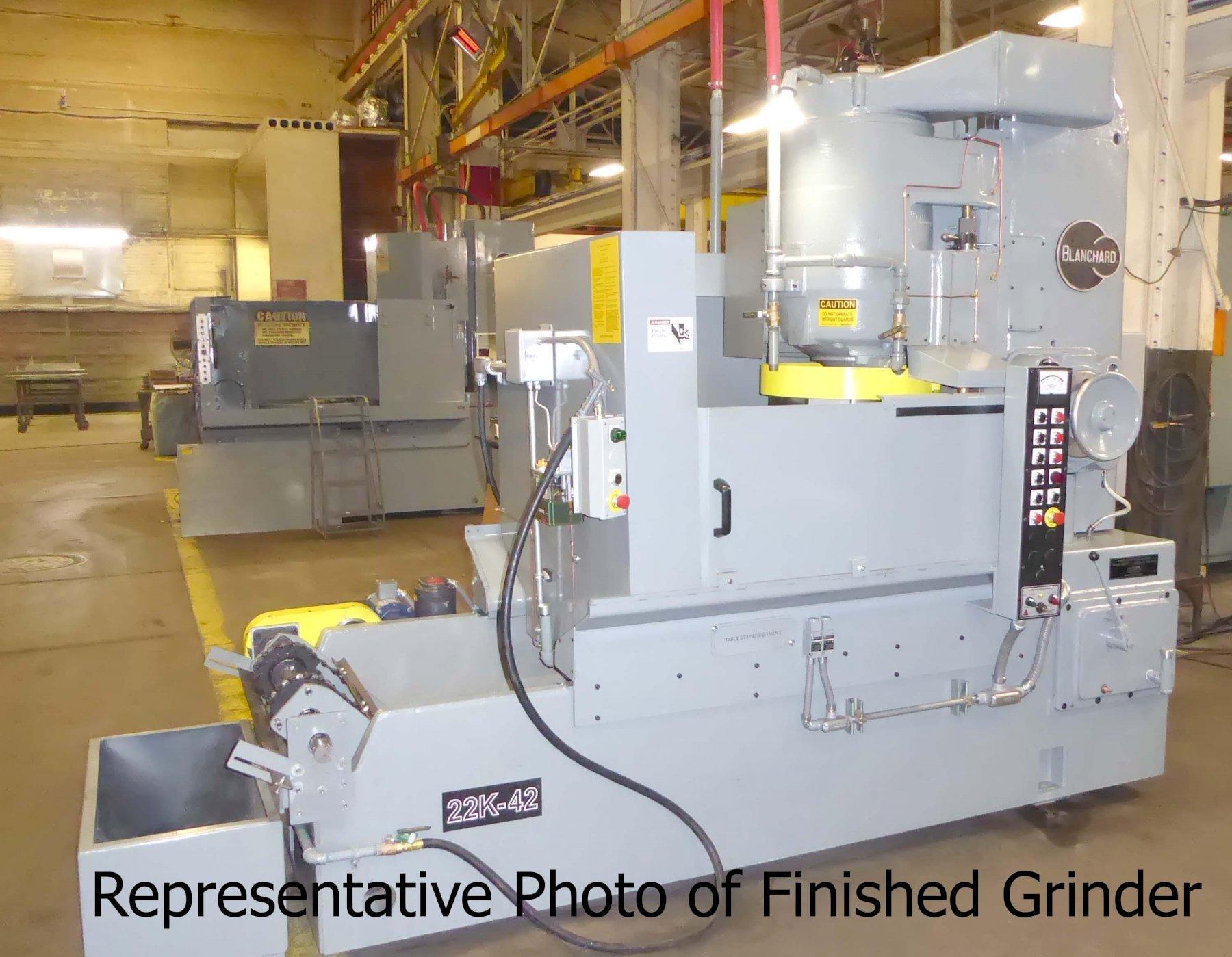 Blanchard 11 Operations Manual Vertical Surface Grinder
