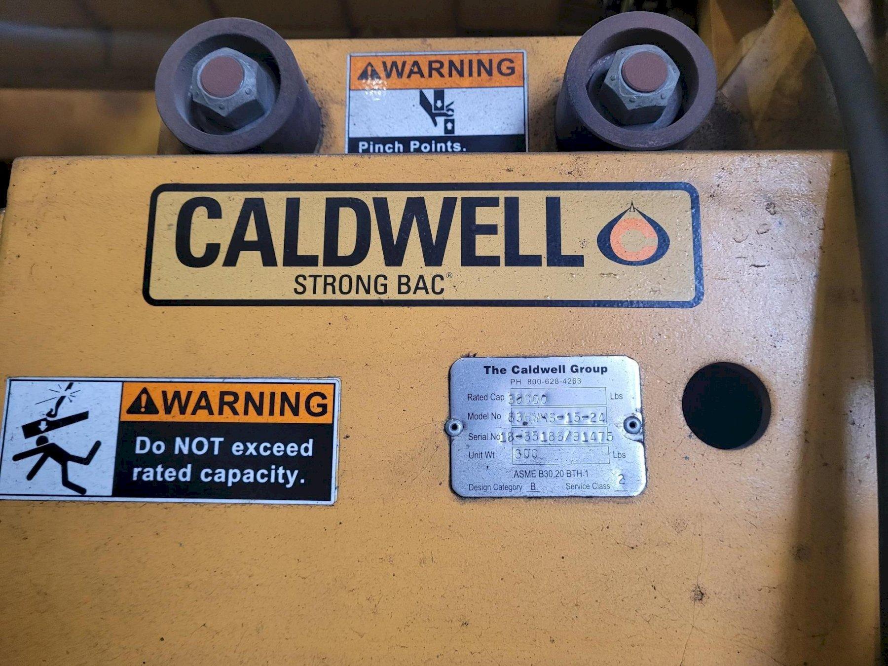15 TON CALDWELL AUTO ID COIL LIFT