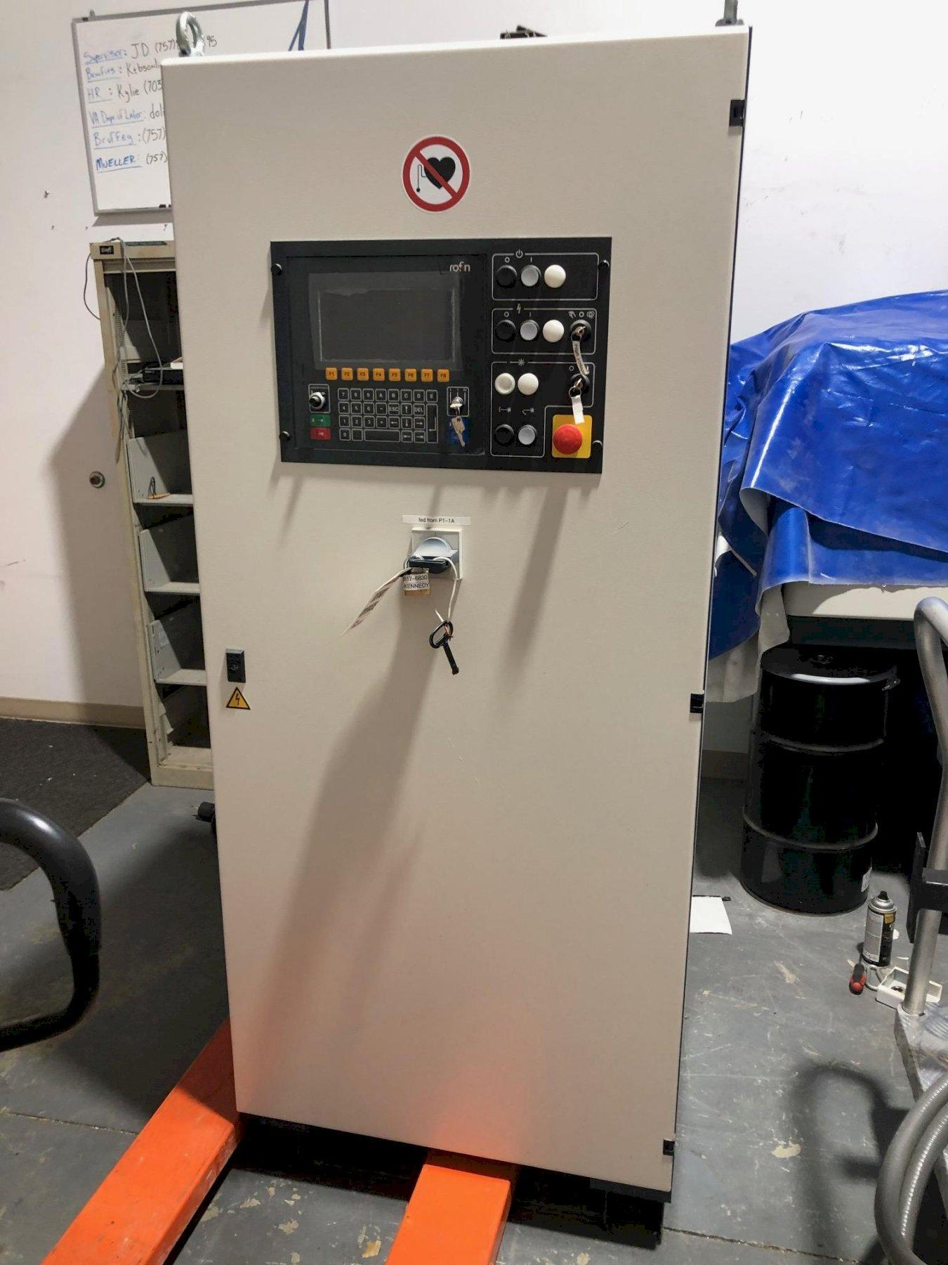 4000 WATT (4KW) ROFIN MODEL #DC040 DIFFUSION COOLED CO2 SLAB LASER, NEW 208: STOCK 13895