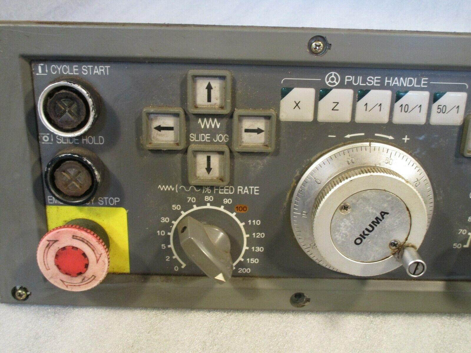 Okuma LB-15 Operator Panel E0105-566-055-3