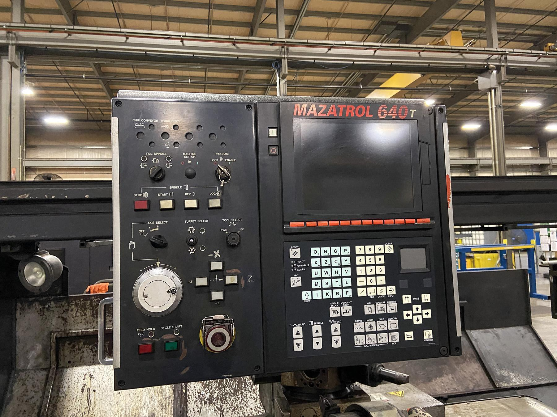 USED, MAZAK POWERMASTER 3000N CNC TURNING CENTER