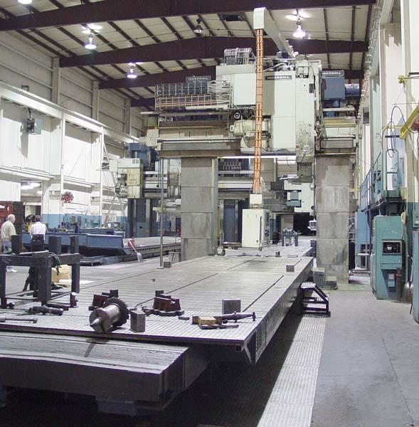 Ingersoll CNC 5-Sided Vertical Bridge Mill