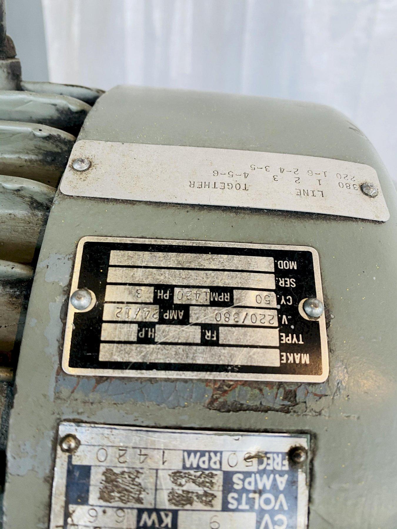 "3"" WOTAN MODEL # B-75 HORIZONTAL BORING MILL. (BUILT IN ROTARY) STOCK # 0951020"