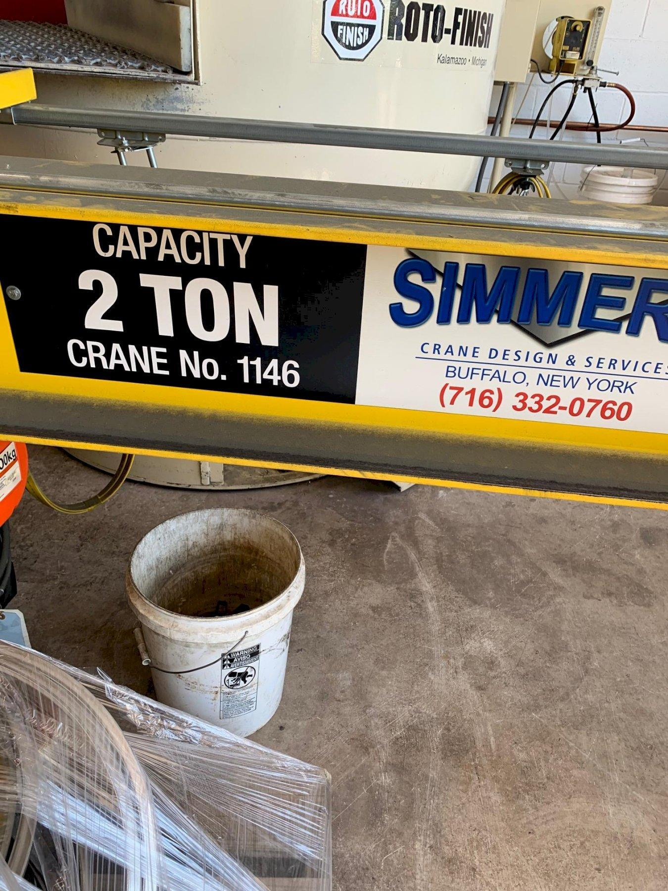 2 TON SIMMERS CRANE WORK STATION