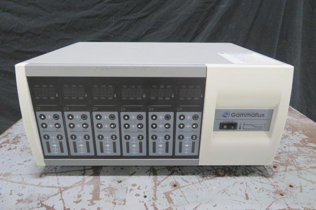 Gammaflux L12G050D12S4PJ Used Hot Runner Controller, 12 zone, 240V