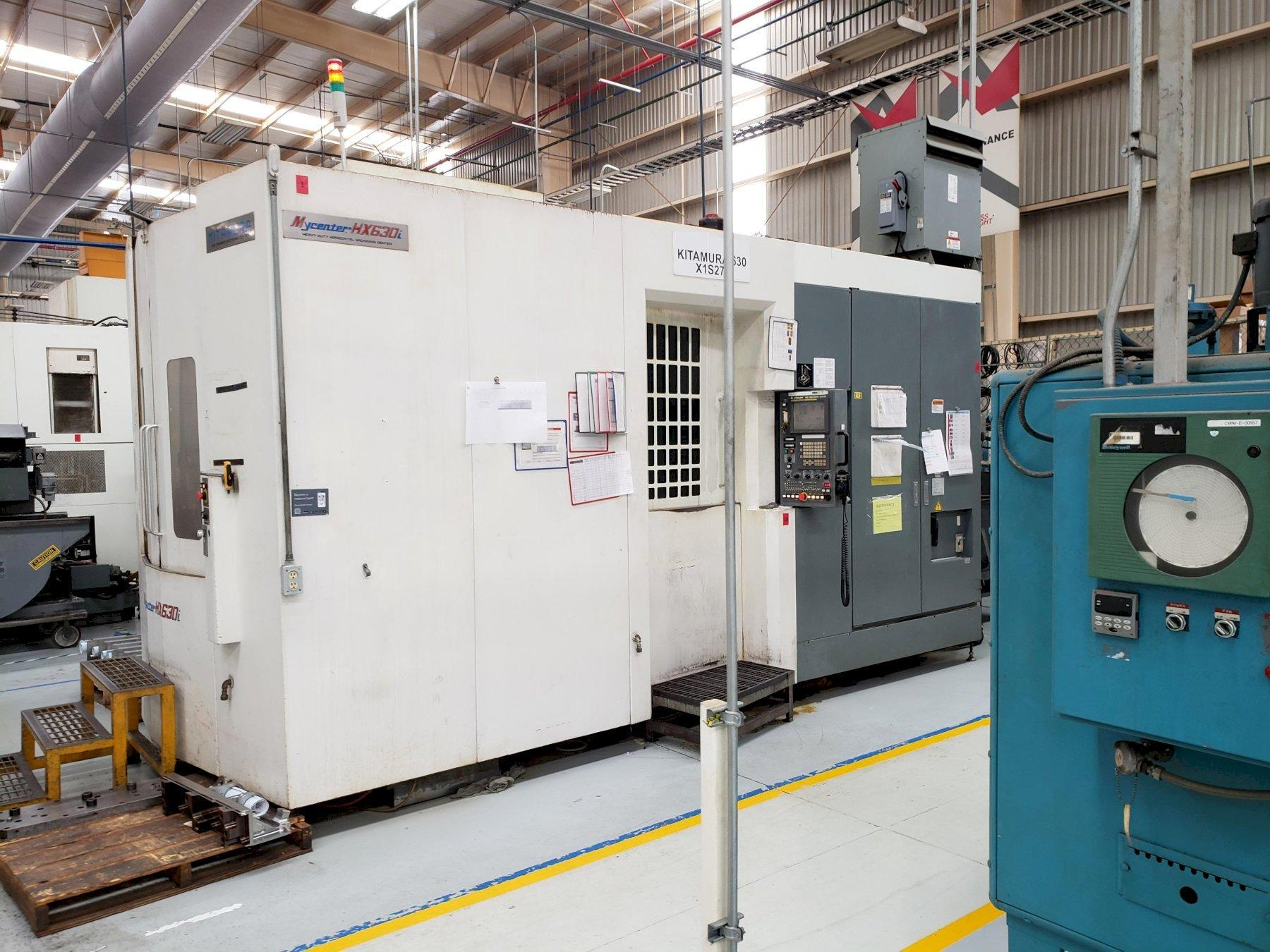 Kitamura HX630i TGA CNC Horizontal Machining Center