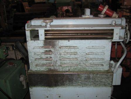 "GAUER No. 6H20NC 20"" THRU-FEED COIL STRIP EDGE DEBURRING MACHINE   Our stock number: 108531"