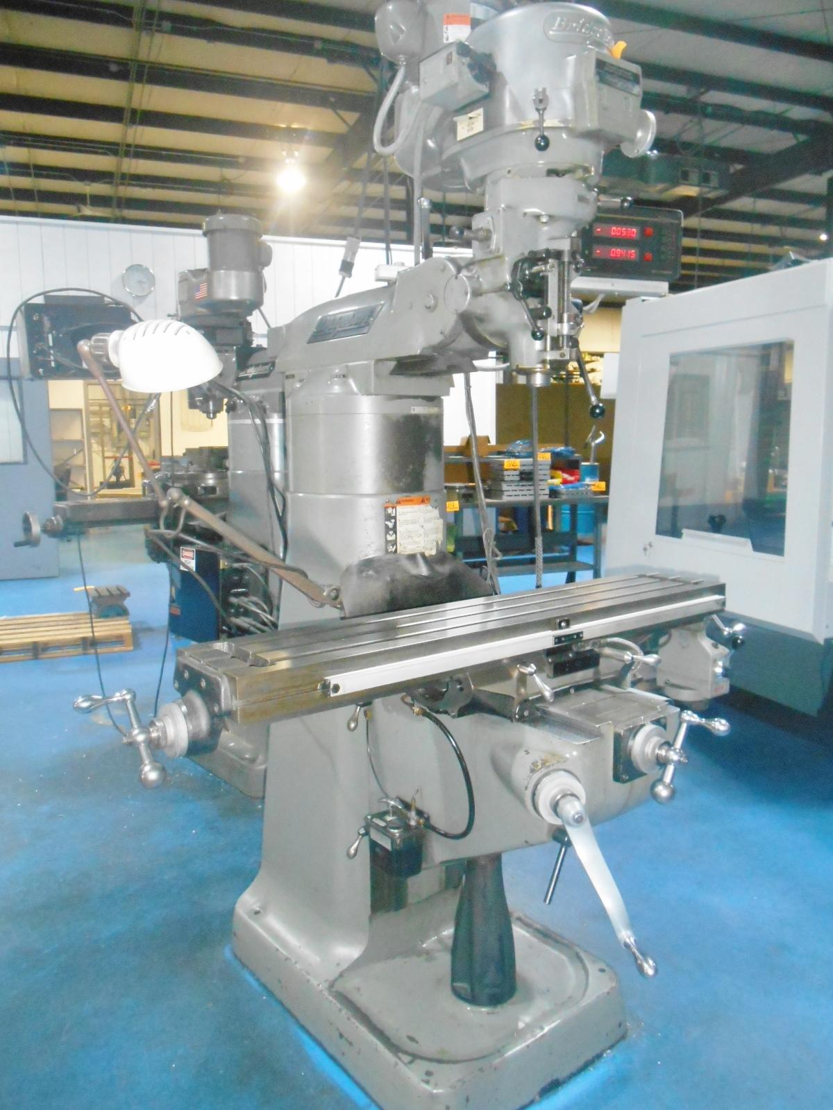 BRIDGEPORT SERIES I VERTICAL MILLING MACHINE WITH 7