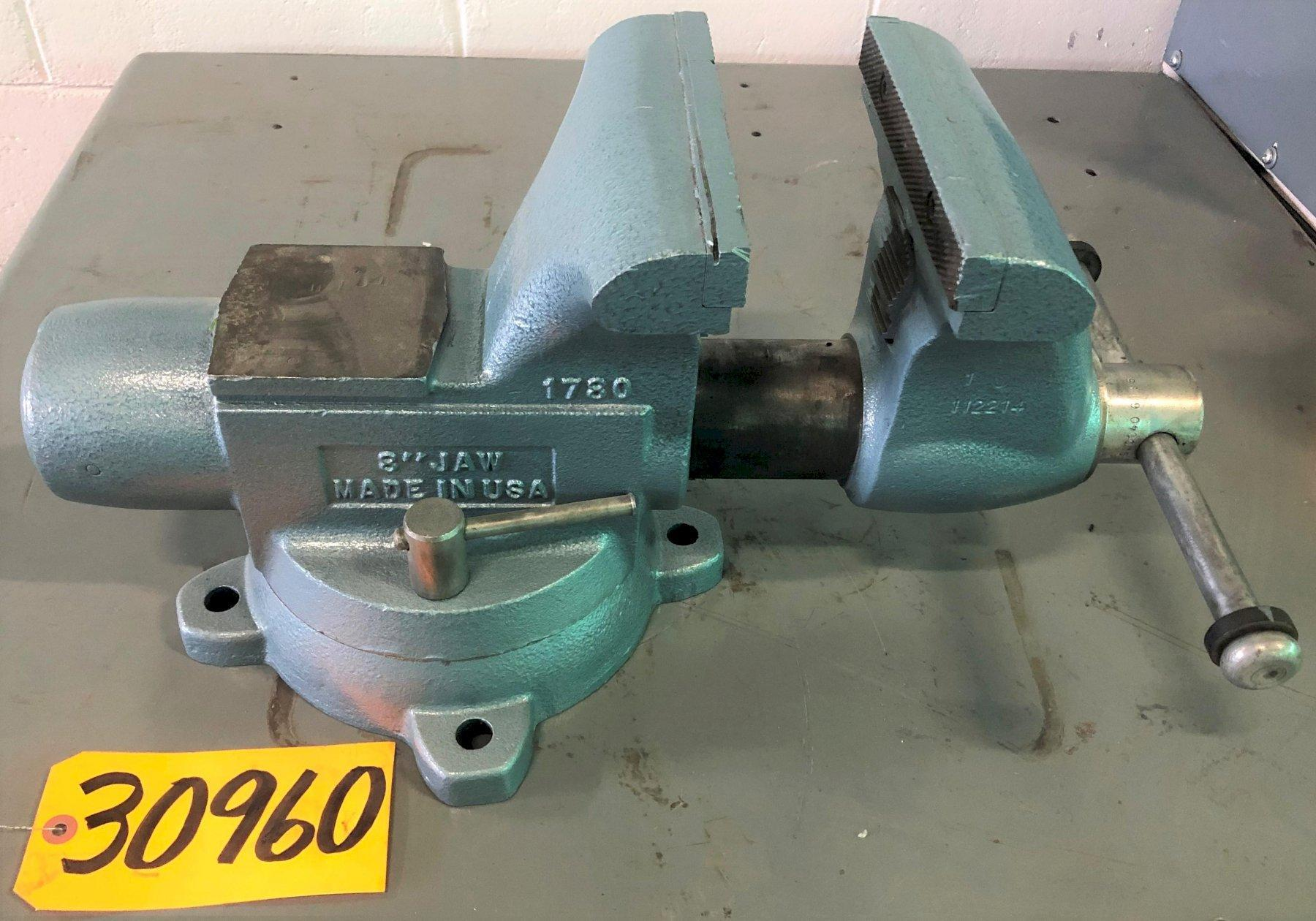 8″ Wilton Bench Vise, Swivel Base