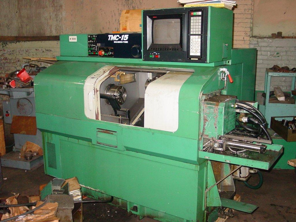 Nakamura Tome TMC-15 CNC Turing Center w/Sub Spindle