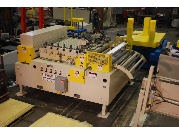 CHS Automation Servo Roll Feed - Straightener Combo 60