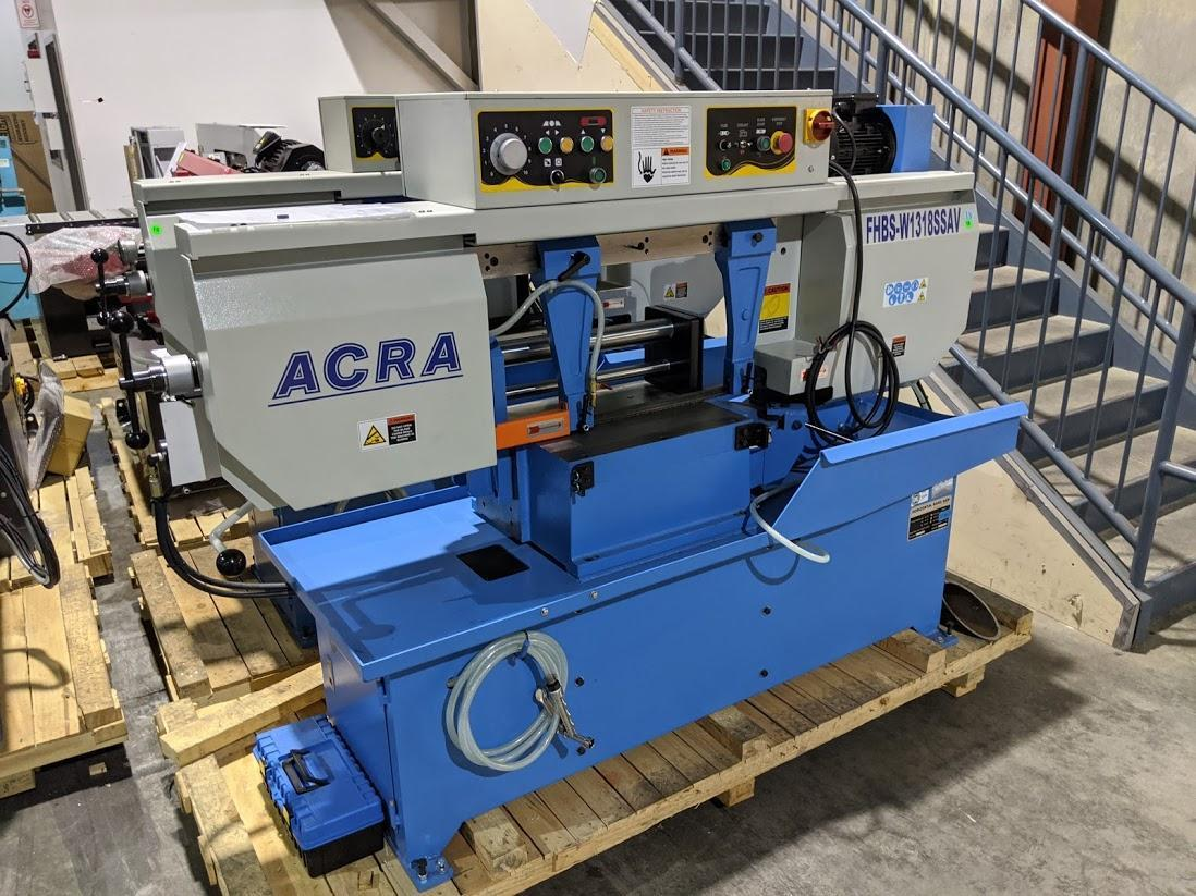ACRA W1318SSAV Semi-Automatic Horizontal Band Saw