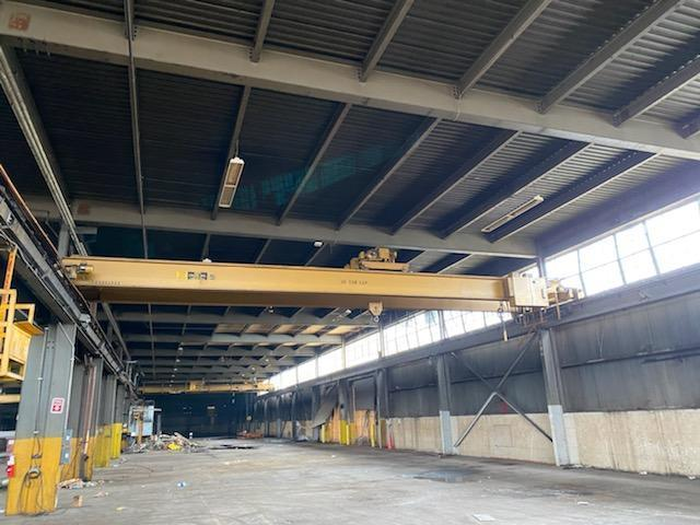 10 Ton MPH Top Running Double Girder Overhead Bridge Crane