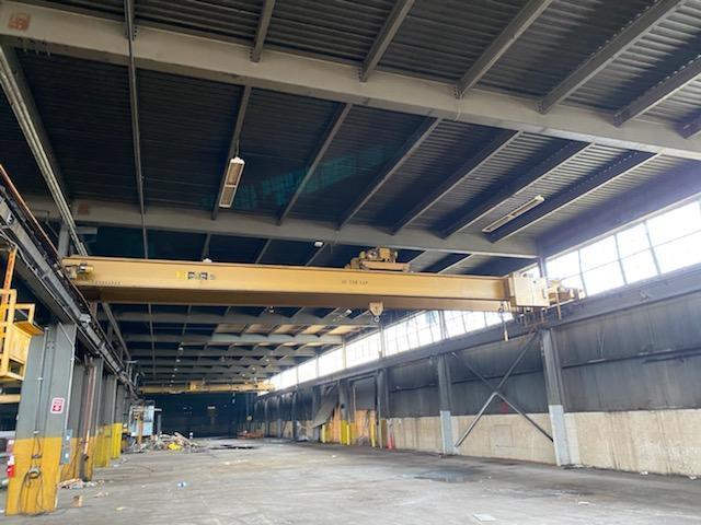 10 Ton MPH Top Running Double Girder Overhead Bridge Crane