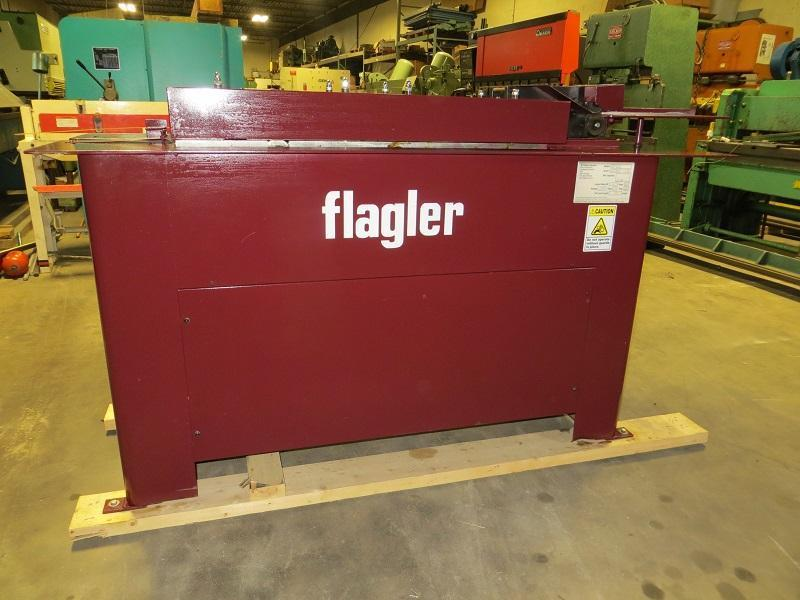 "Flagler Quadformer ""S"" Cleat and Drive Cleat Rollformer w/ Quadcutter Slitting Attachment"