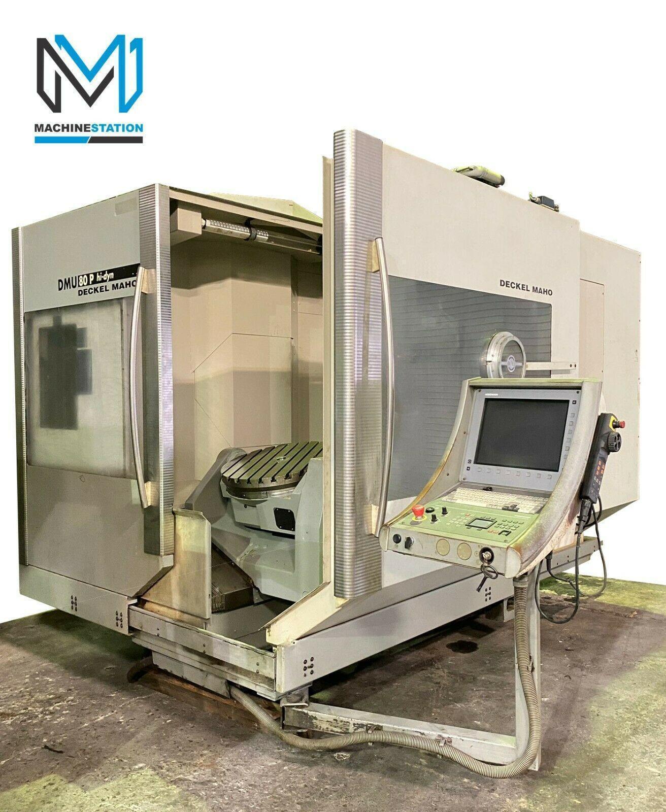 DECKEL MAHO DMG DMU-80P 5 AXIS VERTICAL MACHINING CENTER
