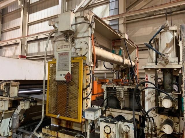 600 Ton IHI Blanking Press with Feedline