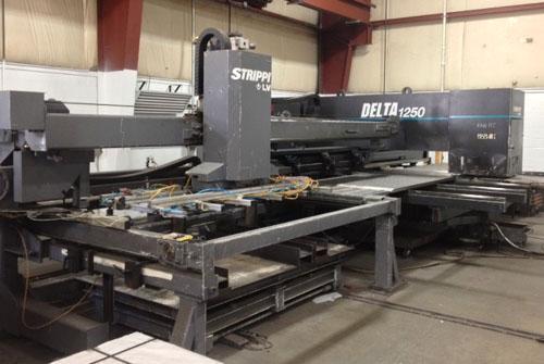 22 TON STRIPPIT/LVD CNC TURRET, DYNAPATH MNC 32000 CNC