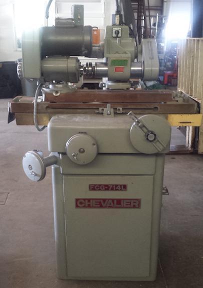 Chevalier Model FCG-714L Universal Tool & Cutter Grinder Model: FCG-714L S/N: I177A002 Mfg: 1988