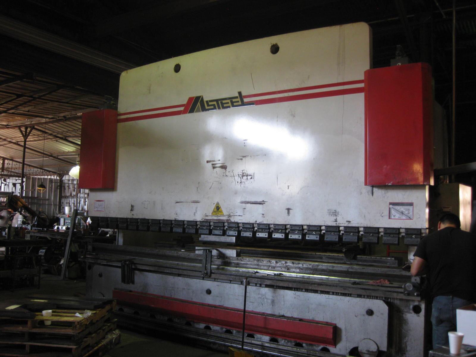 600 Ton x 16 Masteel CNC Hydraulic Press Brake