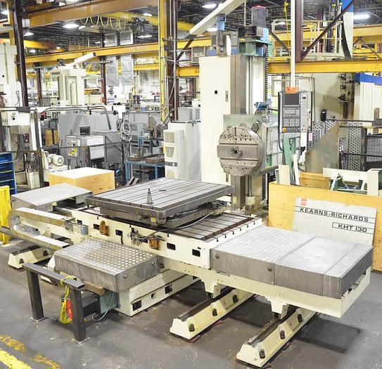 "Kearns & Richards 5.11"" 4-Axis CNC Table Type Horizontal Boring Mill"