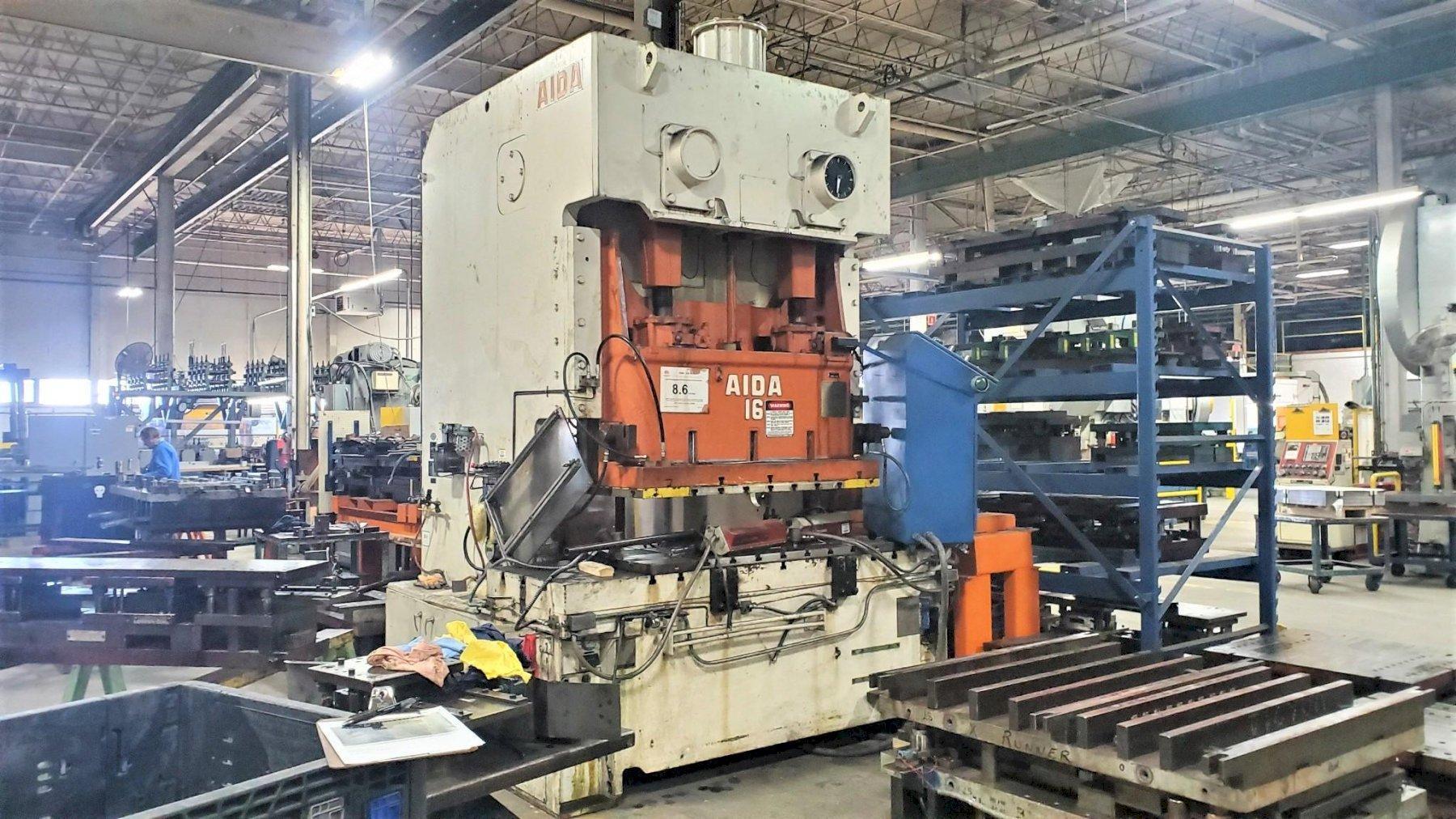 AIDA 176-Ton Gap Frame Press
