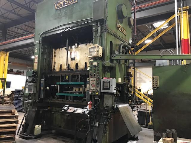 300 Ton Verson SS2-300-72-36T SSDC Press