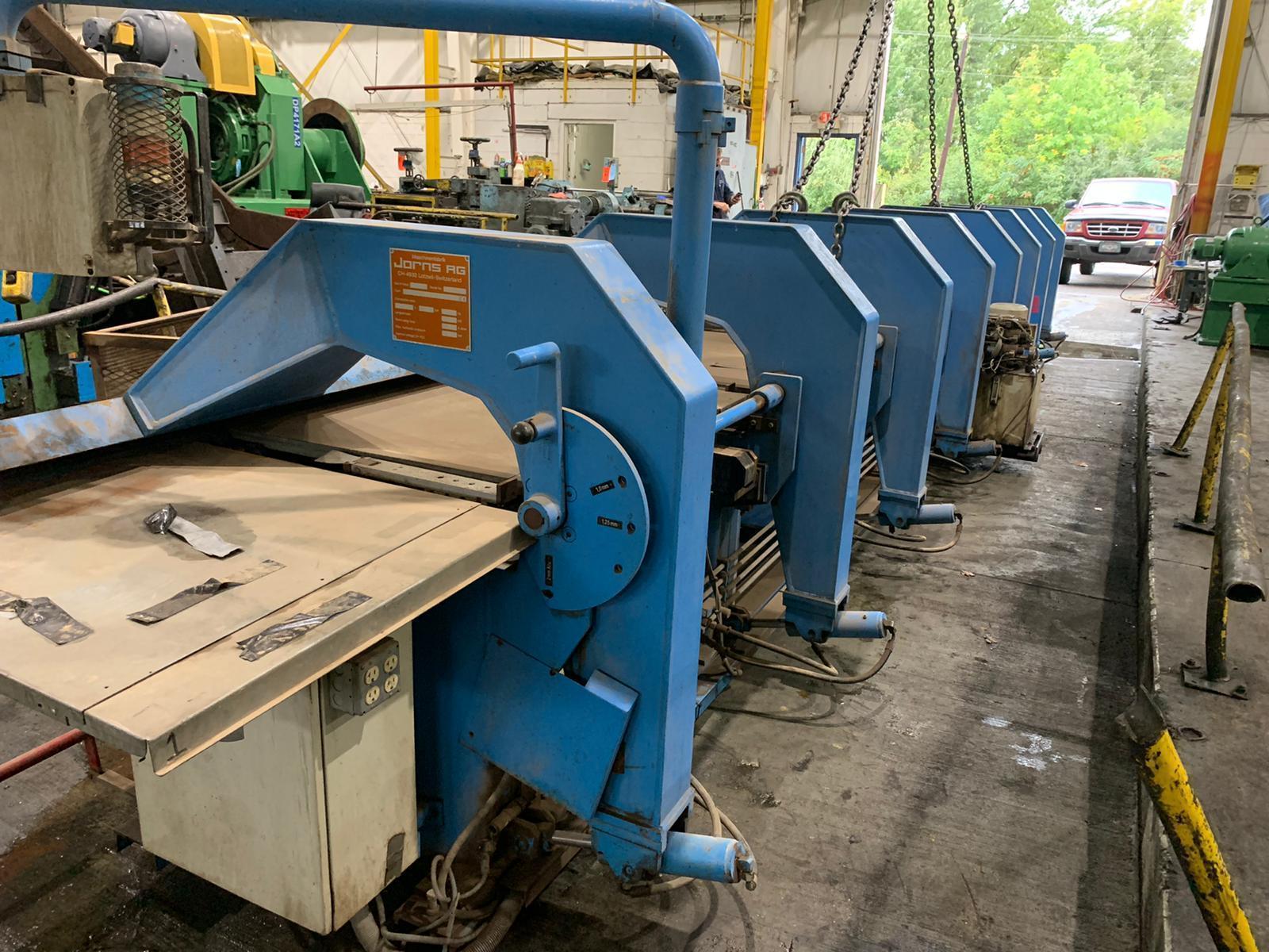 21' (6400mm) Jorns CNC Sheet Metal Folder