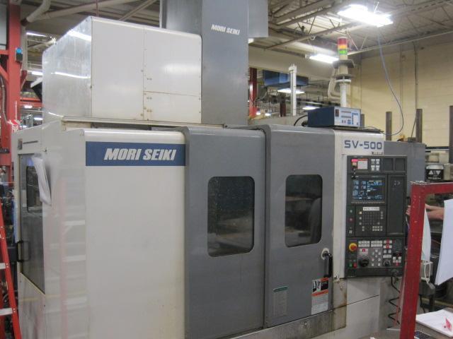 Mori Seiki SV-500/40 Vertical CNC