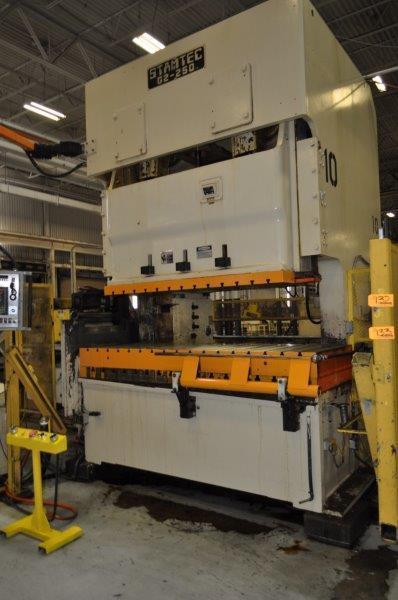 275 Ton Stamtec Double Crank Gap Frame Press