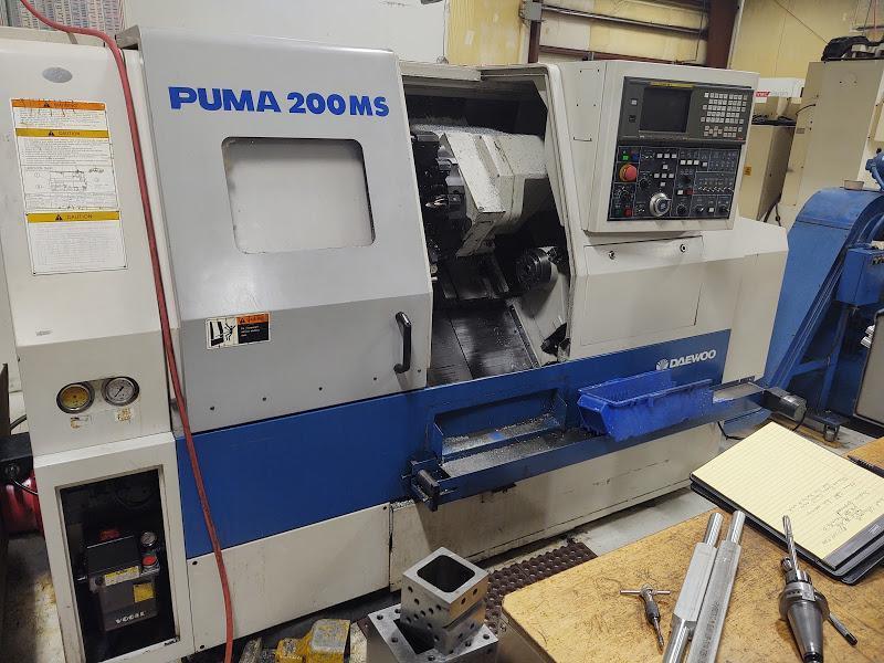 Daewoo Puma 200MS CNC Turning Center, S/N 20MS0103, New 1997.