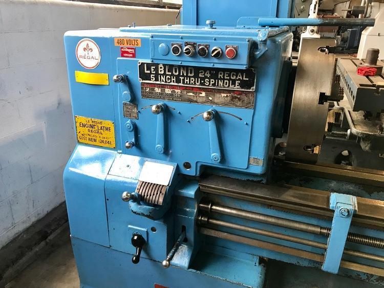 """26"""" x 312 LEBLOND REGAL HOLLOW SPINDLE ENGINE LATHE"""