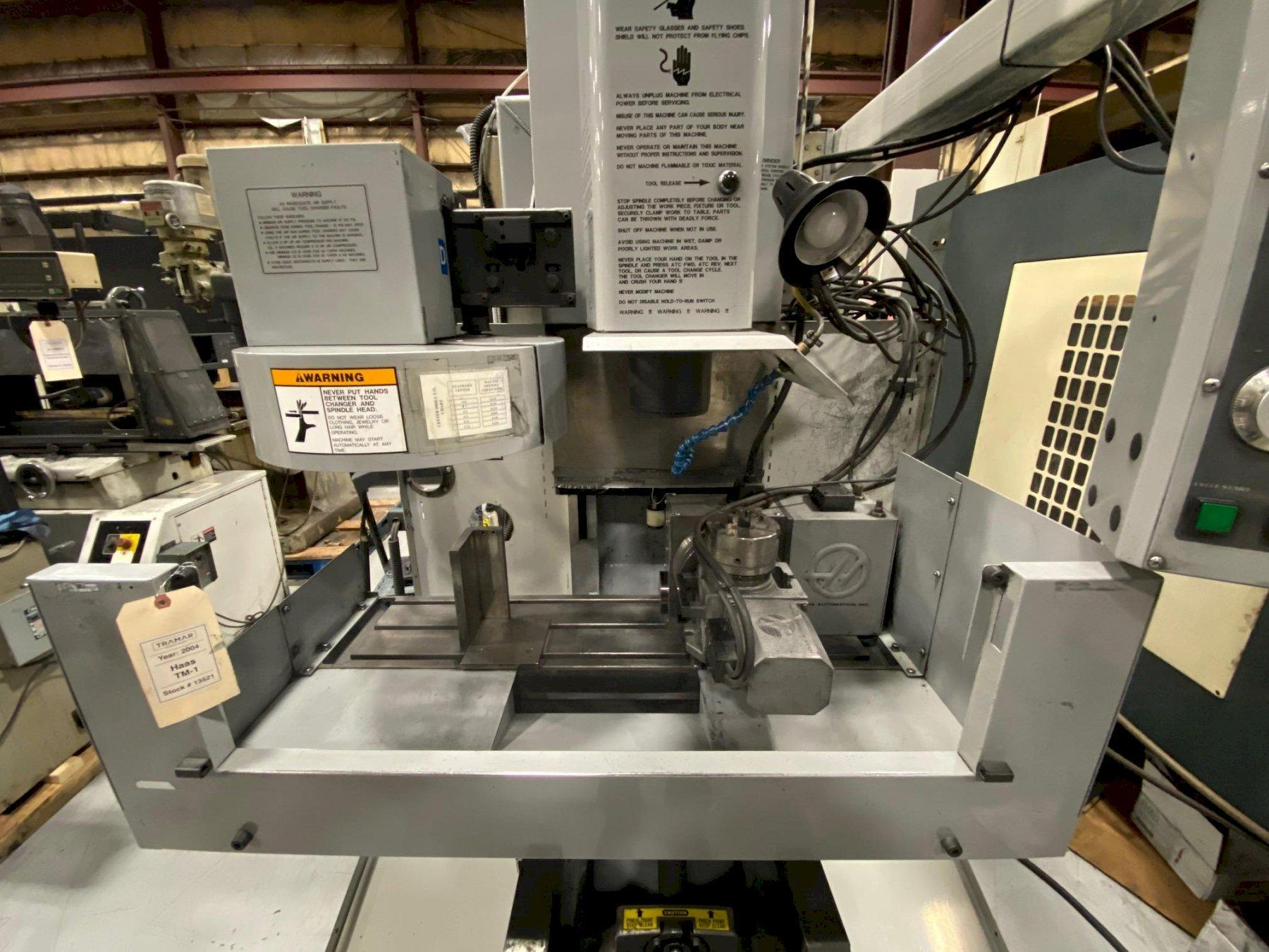 2004 Haas TM-1 Vertical Machining Center